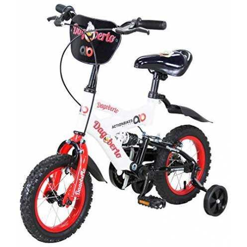 nachhaltig Actionbikes Kinderfahrrad Dagoberto - 12 Zoll - V-Break Bremse vorne - Stützräder - Luftbereifung - Ab 2-5 Jahren - J... ökologisch