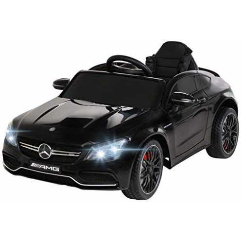 nachhaltig Actionbikes Motors Spielzeug Elektroauto Mercedes Benz C63 - Lizenziert - Ledersitz - Rc Fernbedienung - Elektro Auto... ökologisch