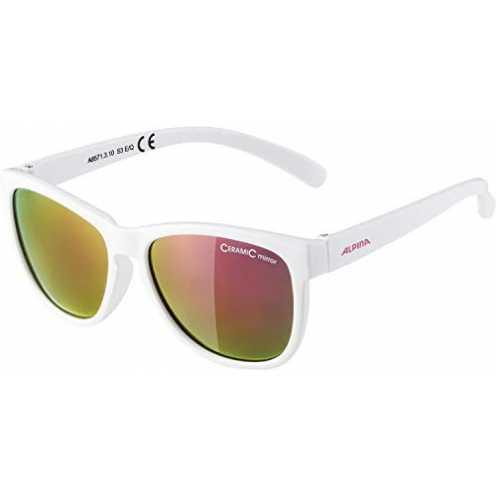 nachhaltig ALPINA Mädchen Luzy Outdoorsport-Brille, White, One Size ökologisch