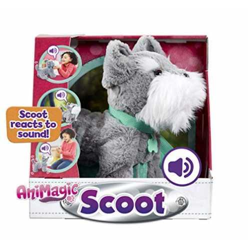 nachhaltig Animagic 256577, Soft Plush, Sound Responsive Movement Scoot, Elektronisches Haustier, ... ökologisch