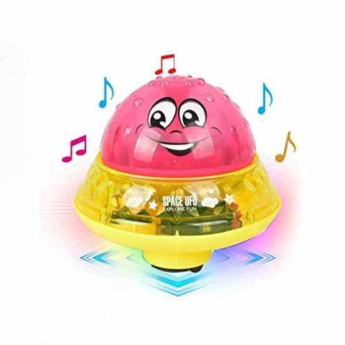 nachhaltig Aokebeey Kinderbad Wasserball Badespielzeug Automatische Induktionsspray Wasserbadspiel... ökologisch