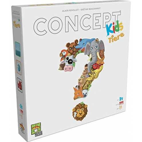 nachhaltig Asmodee RPOD0008 Concept Kids Brettspiel ökologisch