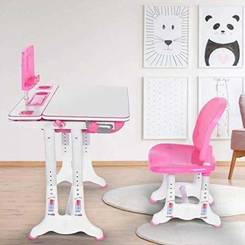 nachhaltig Ausla Set Schreibtisch und Stuhl für Kinder, Kleiner Schreibtisch für Kinder, Arbeitsst... ökologisch