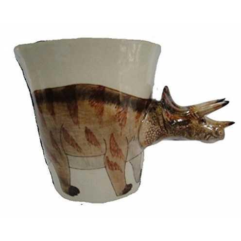 nachhaltig b2see Dinosaurier-Keramik-Becher-Tasse-Tier-3d Tasse-mit-Tier-Bild-Motiven 14 x 15 x 10... ökologisch