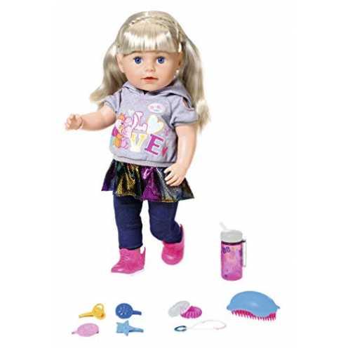 nachhaltig Baby Born 824603 Soft Touch Sister blond 43 cm, bunt ökologisch