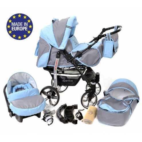 nachhaltig Sportive X2-3 in 1 Reisesystem einschließlich Kinderwagen mit schwenkbaren Rädern, Kinderautositz, Buggy und Zubehör ... ökologisch