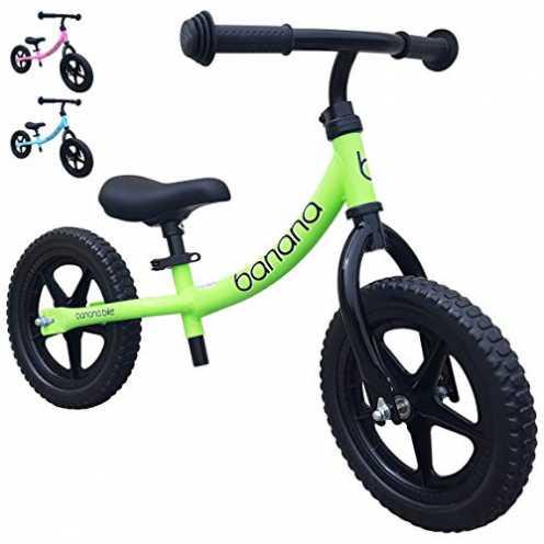 nachhaltig Banana Bike Leichtes Laufrad Lernlaufrad Kinderrad für 2, 3 und 4 Jahre alte Kinder LT ... ökologisch