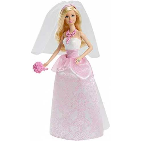 nachhaltig Mattel Barbie CFF37 Braut Barbie ökologisch