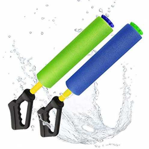 nachhaltig Baztoy Wasserpistole, Kinderspielzeug Schaumstoff Wasserspritzpistolen Wasserspielzeug ... ökologisch