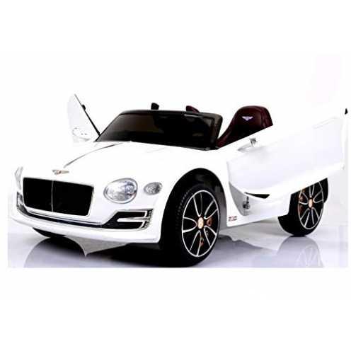 nachhaltig Bentley Continental Cabrio - Elektro Kinderauto Elektroauto Kinderfahrzeug E-Auto - Ledersitz / 2x 390 Motoren / 2x 6... ökologisch