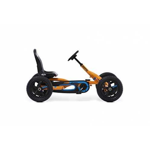 nachhaltig BERG Pedal-Gokart, Für Kinder von 3 bis 8 Jahren, Bis 50 kg, Buddy B-Orange, Orange ökologisch