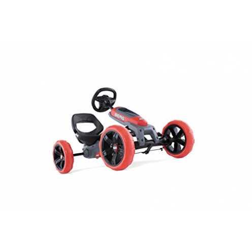 nachhaltig BERG Pedal-Gokart, Soundbox im Lenkrad, Für Kinder von 2,5 bis 6 Jahren, Bis 30 kg, Rep... ökologisch