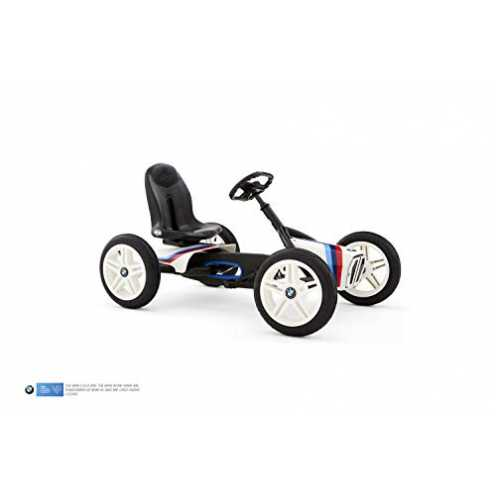 nachhaltig Berg Toys 24.21.64.00 Buddy Tretauto mit Optimale Sicherheid Luftreifen und Freilauf BM... ökologisch