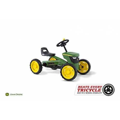 nachhaltig Berg Toys 24.30.11.00 Buzzy John Deere Go-Kart Kinderfahrzeug, Multi-Colored ökologisch