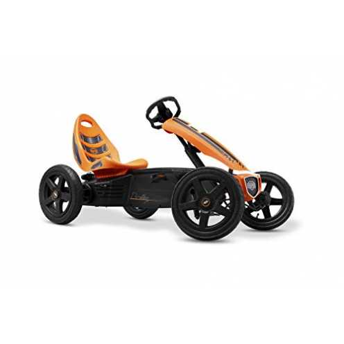 nachhaltig Berg Toys 24.40.00.00 Tretauto mit Optimale Sicherheid Luftreifen und Freilauf GoKart R... ökologisch