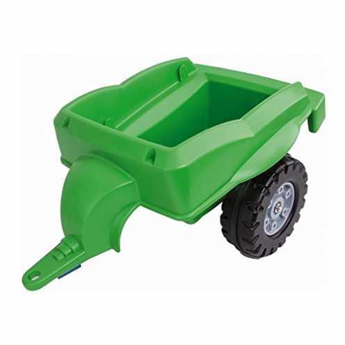 nachhaltig BIG Spielwarenfabrik 800056668 Big-Trailer Traktoranhänger, grün ökologisch