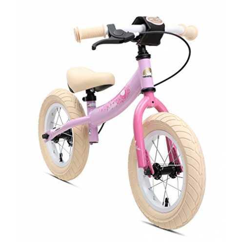 nachhaltig BIKESTAR Kinder Laufrad Lauflernrad Kinderrad für Mädchen ab 3-4 Jahre | 12 Zoll Sport ... ökologisch