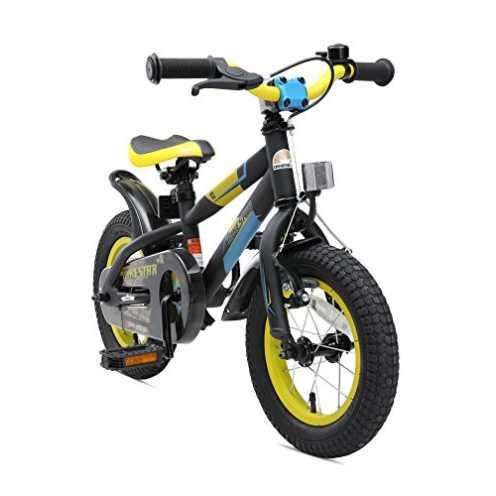 nachhaltig BIKESTAR Kinderfahrrad 12 Zoll für Mädchen und Jungen ab 3-4 Jahre   12er Kinderrad Mountainbike   Fahrrad für Kinder... ökologisch