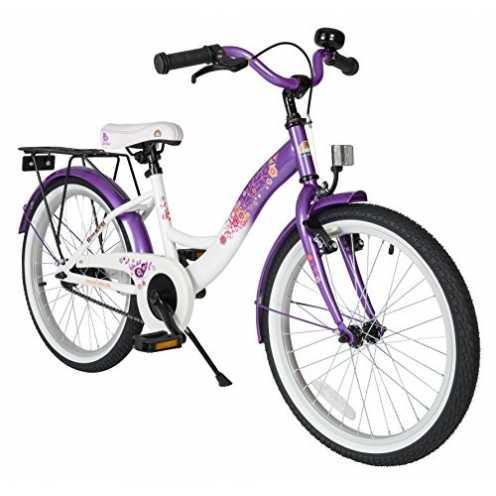 nachhaltig BIKESTAR Premium Sicherheits Kinderfahrrad 20 Zoll für Mädchen ab 6-7 Jahre ★ 20er Kinderrad Classic ★ Fahrrad für Ki... ökologisch