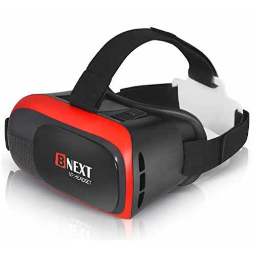 VR-Brille, Virtual Reality-Brille kompatibel mit iPhone & Android [3D Brille] - Erleben...
