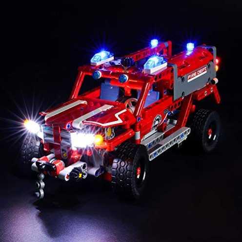 nachhaltig BRIKSMAX Led Beleuchtungsset für Lego Technic First Responder,Kompatibel Mit Lego 42075 Bausteinen Modell - Ohne Lego... ökologisch