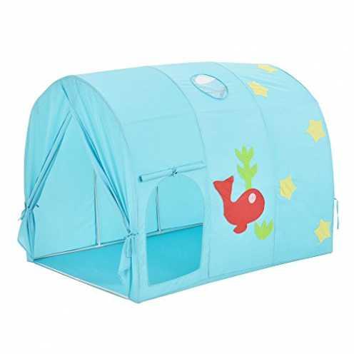 nachhaltig[casa.pro]® Spielzelt Aquarium Bällebad 100 x 138 x 100 cm Kinderzelt Babyzelt Spielhau... ökologisch