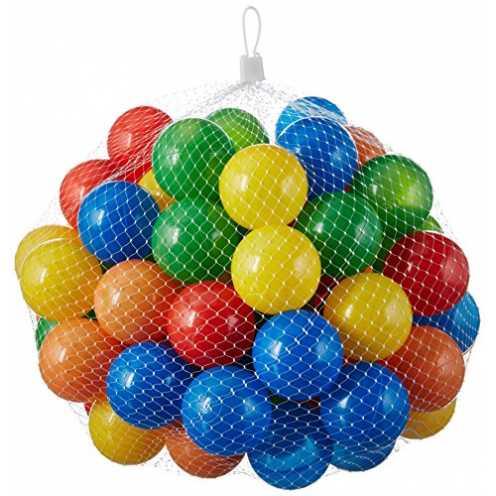 nachhaltig 50 Stück bunte Bälle für Kinder, Babys und Tiere , 55mm Durchmesser Kinder ab 0 ökologisch