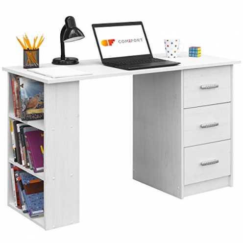 nachhaltig COMIFORT, Schreibtisch, Bürotisch, Büroschreibtisch, Maße: 120 x 49 x 72 cm ökologisch