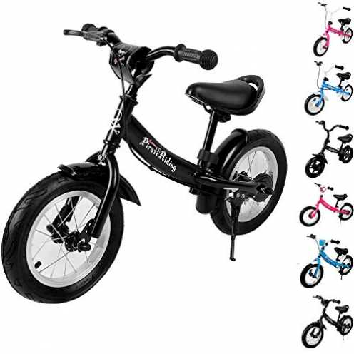 nachhaltig Deuba Kinderlaufrad Kinder Fahrrad|10 - 12 Zoll | von 2-4 Jahren | höhenverstellbar |La... ökologisch