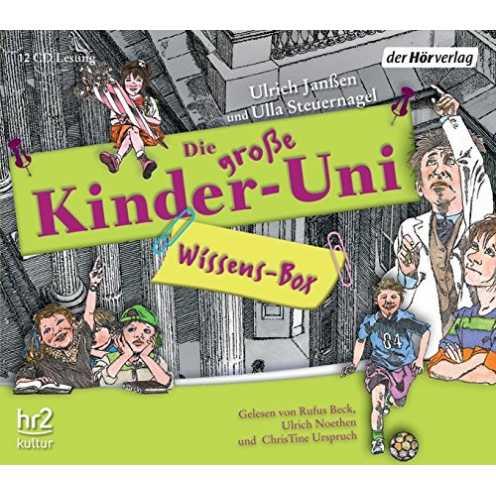 nachhaltig Die große Kinder-Uni Wissens-Box ökologisch