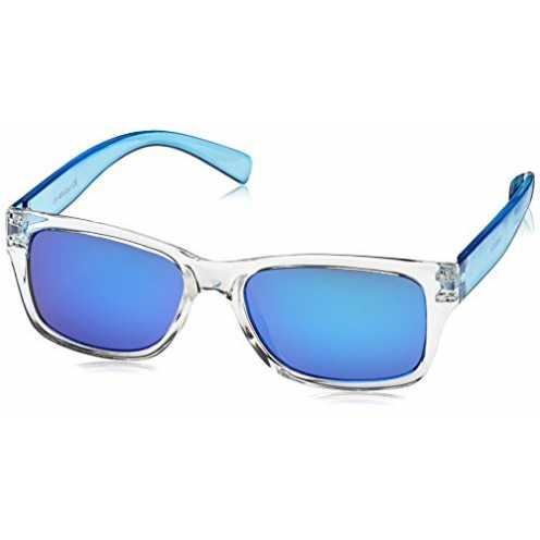 nachhaltig Dice Unisex Kinder Sonnenbrille, Shiny Crystal Blue, One size, D03370-5 ökologisch