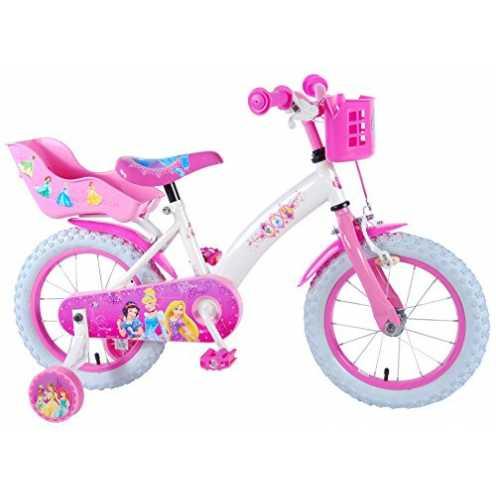 nachhaltig Disney Princess 14 Zoll Prinzessin Kinderfahrrad Mädchenfahrrad Kinder Fahrrad Rad Volare Volare ökologisch