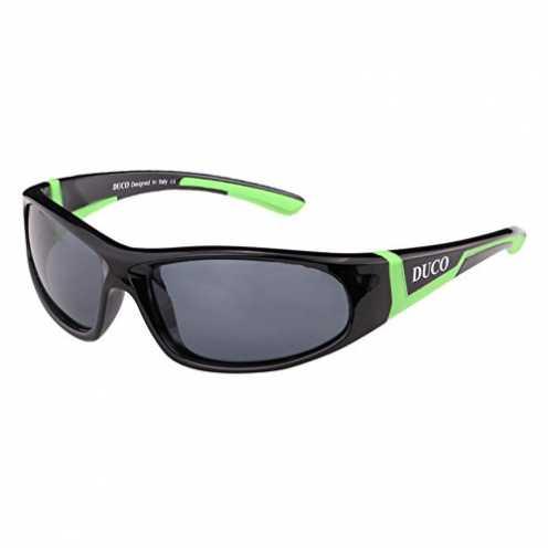nachhaltig DUCO Kinder Sonnenbrille Polarisierte Sportbrille für Jungen und Mädchen Für Alter 3-10 ökologisch