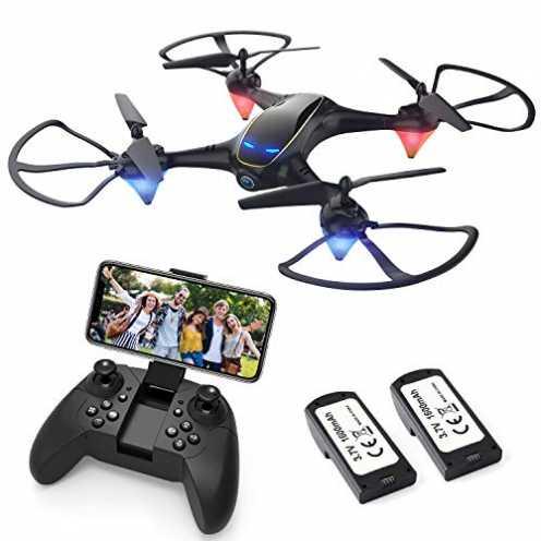 nachhaltig EACHINE E38 Drohne mit Kamera 720MP,WiFi FPV Echtzeitübertragung,Headless-Modus,automat... ökologisch