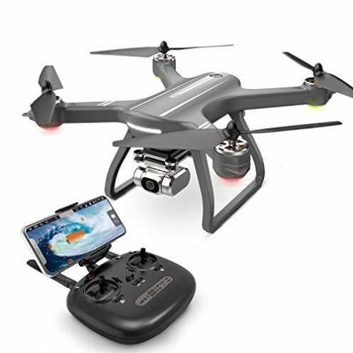 nachhaltig Eanling HS700D GPS Drohne mit 2K Kamera,2,4Ghz Wifi live Übertragung,GPS automatisch Rü... ökologisch
