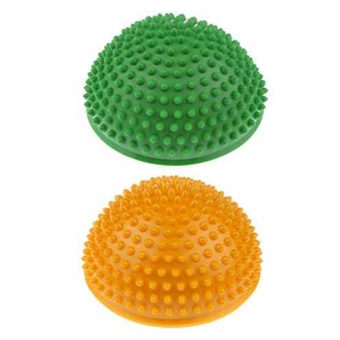 nachhaltig FLAMEER 2pcs Balance Igel - Gymnastik Igel - Igelball - Balance Pod - Balancierspiel- 1... ökologisch