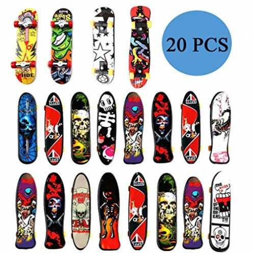 nachhaltig Funmo Finger Skateboard, Fingerskateboard Set, Professionelle Finger Skateboard, Mini Fingerboards Finger Boards Skat... ökologisch