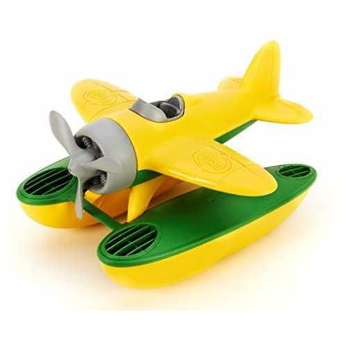 nachhaltig Green Toys SEAY-1030 - Wasserflugzeug, gelb ökologisch