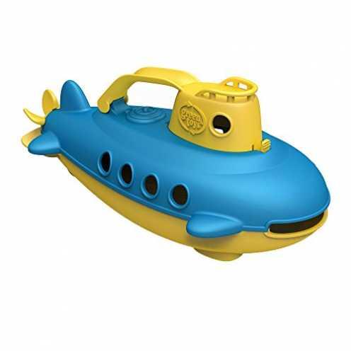 nachhaltig Green Toys SUBY-1033 - U-Boot, gelber Turm ökologisch