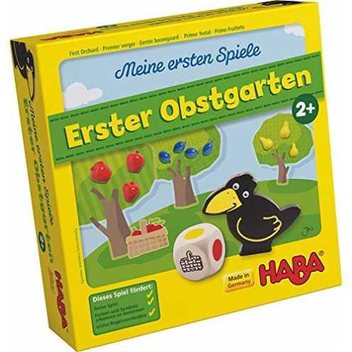 nachhaltig Haba 4655 - Meine ersten Spiele Erster Obstgarten, unterhaltsames Brettspiel rund um Fa... ökologisch