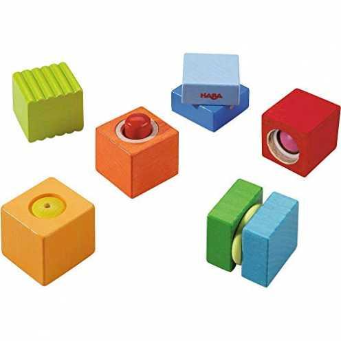 nachhaltig Haba 7628 - Entdeckersteine Klangspaß, robustes Holzspielzeug und Lernspiel ab 1 Jahr, ... ökologisch