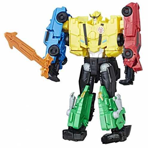 nachhaltig Hasbro C0626ES1 - Transformers Rid Team Combiner Ultra Bee Solid, Actionfigur ökologisch