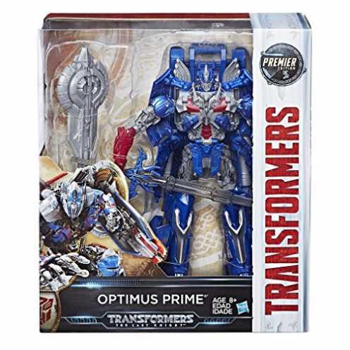 nachhaltig Hasbro C1339 Transformers Premier Edition Optimus Prime The Last Knight Figur ca. 25 cm. lang ökologisch
