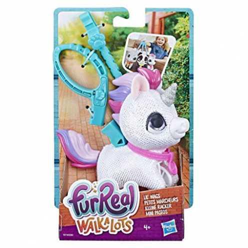 nachhaltig Hasbro FURREAL Friends E4774ES2 Kleine Racker Hörnchen, Einhorn für tierischen Gassi-Sp... ökologisch