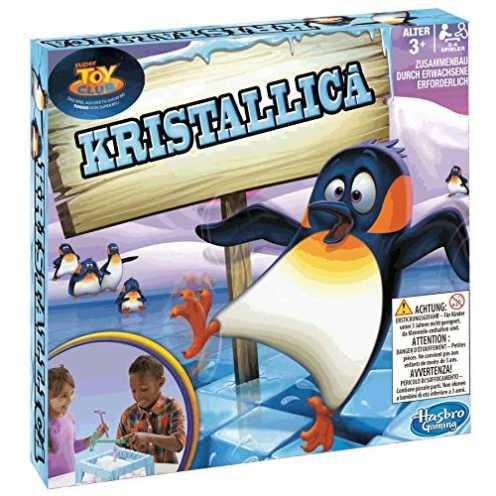 nachhaltig Hasbro - Kristallica, kindgerechtes Geschicklichkeitsspiel ab 3 Jahren ökologisch
