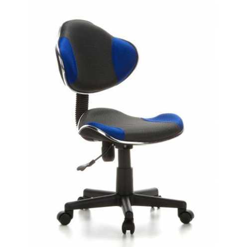 nachhaltig hjh OFFICE 633000 Kinderdrehstuhl Bürostuhl KIDDY GTI-2 grau blau, Kinderdrehstuhl für ... ökologisch