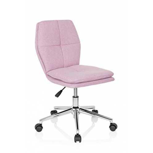 nachhaltig hjh OFFICE 670944 Kinder-Schreibtischstuhl Joy I Stoff Rosa moderner Drehstuhl, bequem ... ökologisch