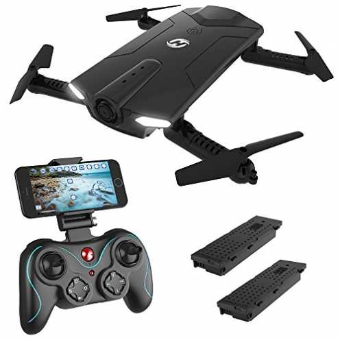 nachhaltig Holy Stone HS160 FPV Mini Drohne faltbar mit HD Kamera live ubertragung lange Flugzeit ... ökologisch