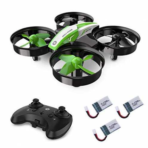 nachhaltig Holy Stone HS210 Mini Drohne für Kinder, Indoor Quadrocopter Helikopter Ferngesteuert m... ökologisch