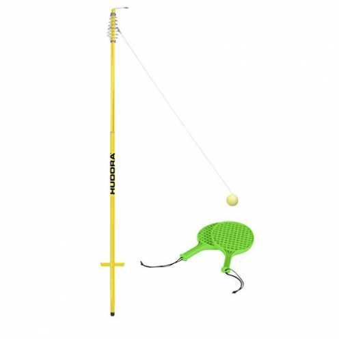 nachhaltig HUDORA Twistball-Set inkl. 2 Twistball-Schläger - Swingball - 76171 ökologisch
